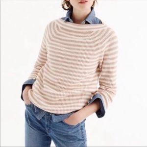 J.Crew Blush Boatneck Sweater